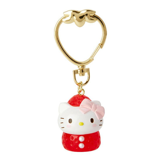 JP Sanrio - Strawberries Collection - Keychain x Hello Kitty