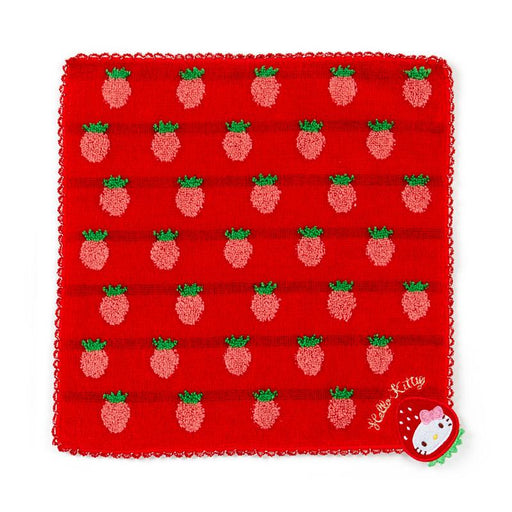 JP Sanrio - Strawberries Collection - Petite Towel x Hello Kitty