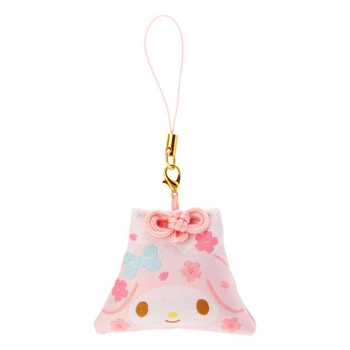 Japan Sanrio - Sakura 2021 Collection - Fuji Mountain Shaped Omamori Phone Strap x My Melody
