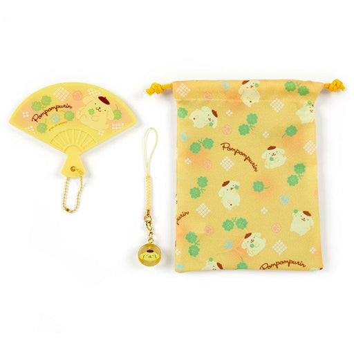 Japan Sanrio - Hand Mirror Set (Fan) x Pompompurin