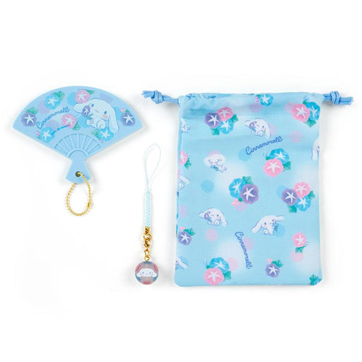 Japan Sanrio - Hand Mirror Set (Fan) x Cinnamoroll
