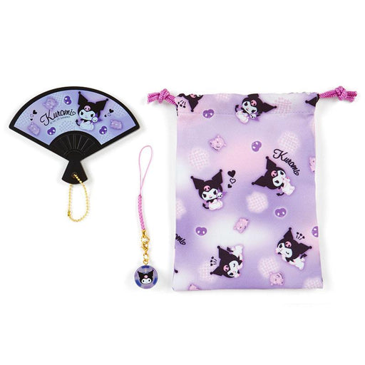 Japan Sanrio - Hand Mirror Set (Fan) x Kuromi