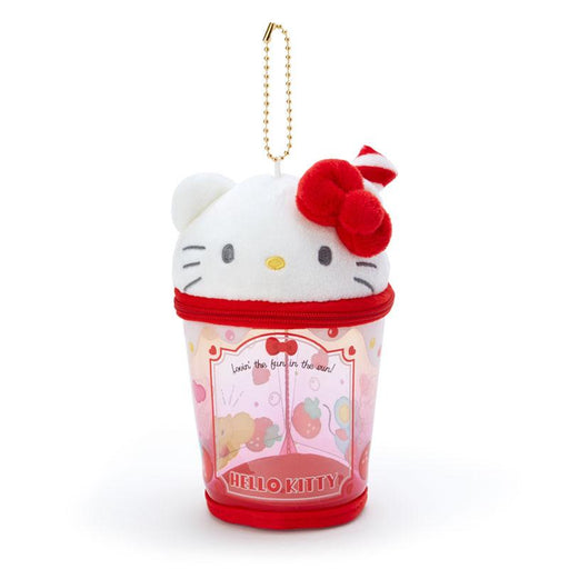 Japan Sanrio -  Summer by the Sea Collection - Portable Pouch & Keychain x Hello Kitty