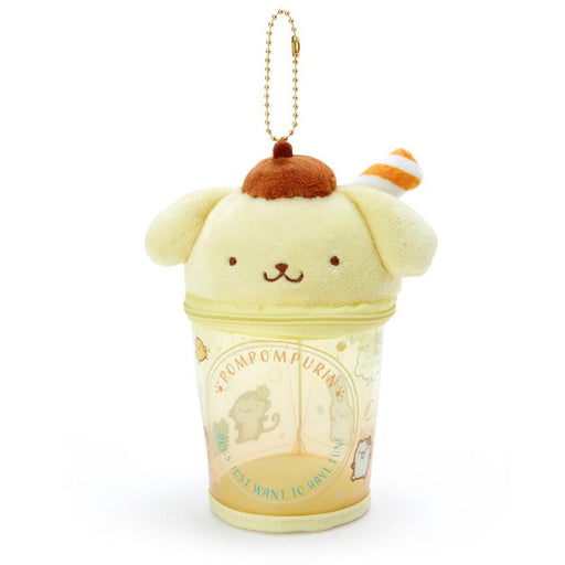 Japan Sanrio -  Summer by the Sea Collection - Portable Pouch & Keychain x Pompompurin