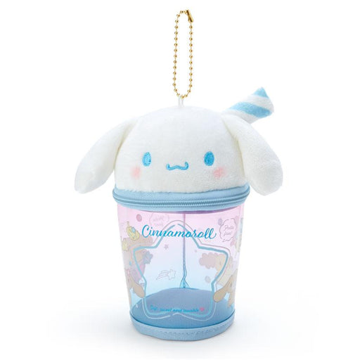 Japan Sanrio -  Summer by the Sea Collection - Portable Pouch & Keychain x Cinnamoroll