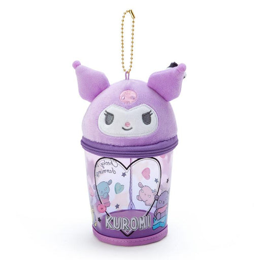 Japan Sanrio -  Summer by the Sea Collection - Portable Pouch & Keychain x Kuromi