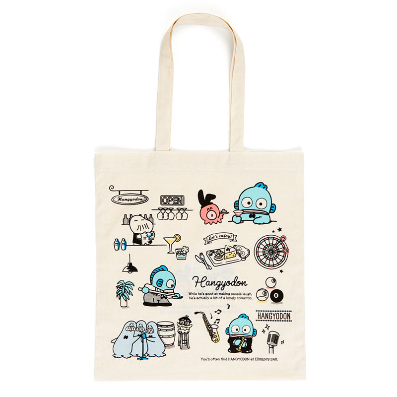 Japan Sanrio - Cotton Tote Bag x Hangyodon