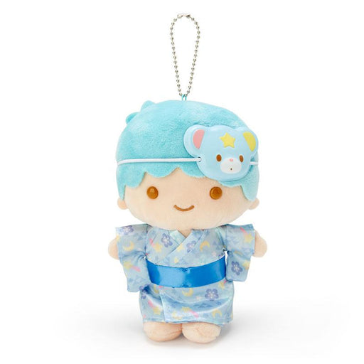 "Japan Sanrio - ""Summer Festival 2020 Collection"" - Plush Keychain x Little Twin Star (Blue)"