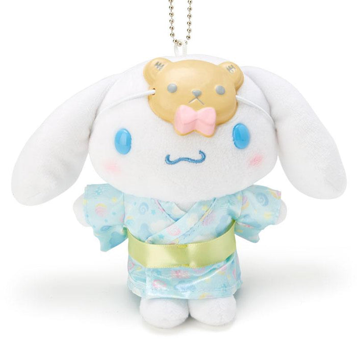 "Japan Sanrio - ""Summer Festival 2020 Collection"" - Plush Keychain x Cinnamoroll"