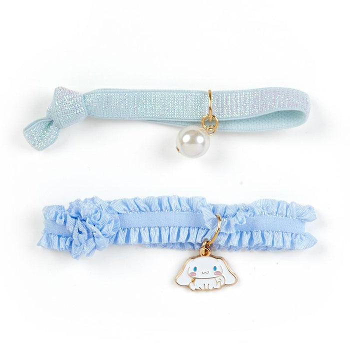Japan Sanrio - Clear Pouch x Hair Ties Set - Cinnamoroll