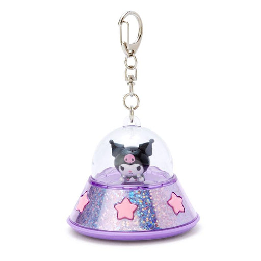 Japan Sanrio - UFO Spaceship Lighting Up Keychain x Kuromi