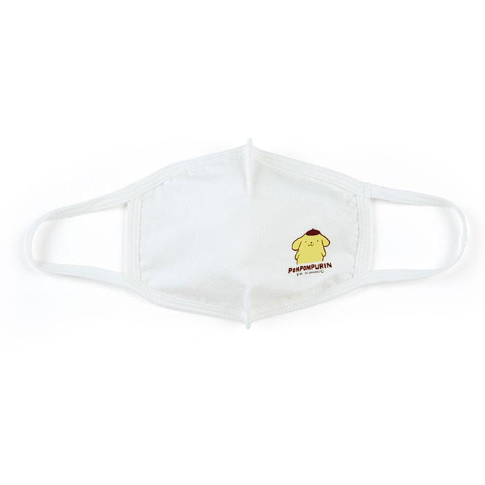 Japan Sanrio - Cool Touch Fashion Cloth Mask x Pompompurin (Color: White)