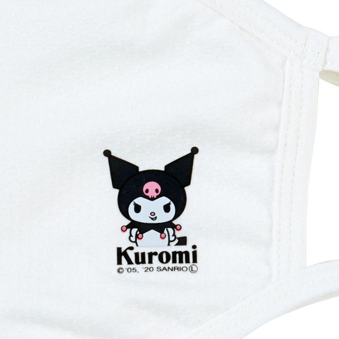 Japan Sanrio - Cool Touch Fashion Cloth Mask x Kuromi (Color: White)