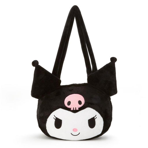 Japan Sanrio - Face-shaped Big Tote Bag x Kuromi