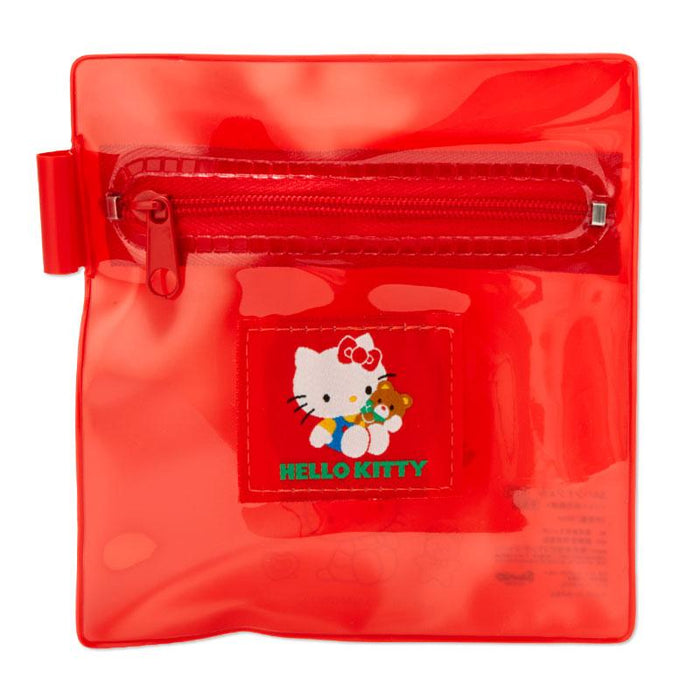 Japan Sanrio - Hand Gel Bottle, Wet Wipe & Pouch Set x Hello Kitty