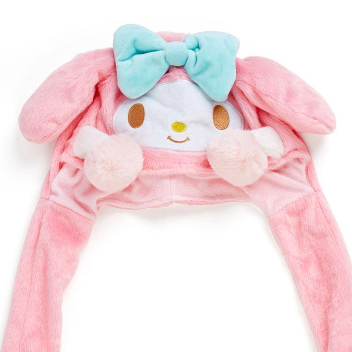 "Japan Sanrio - Support everyone who does their best! Series - Fluffy Hats ""Ears Moveable"" x My Melody"