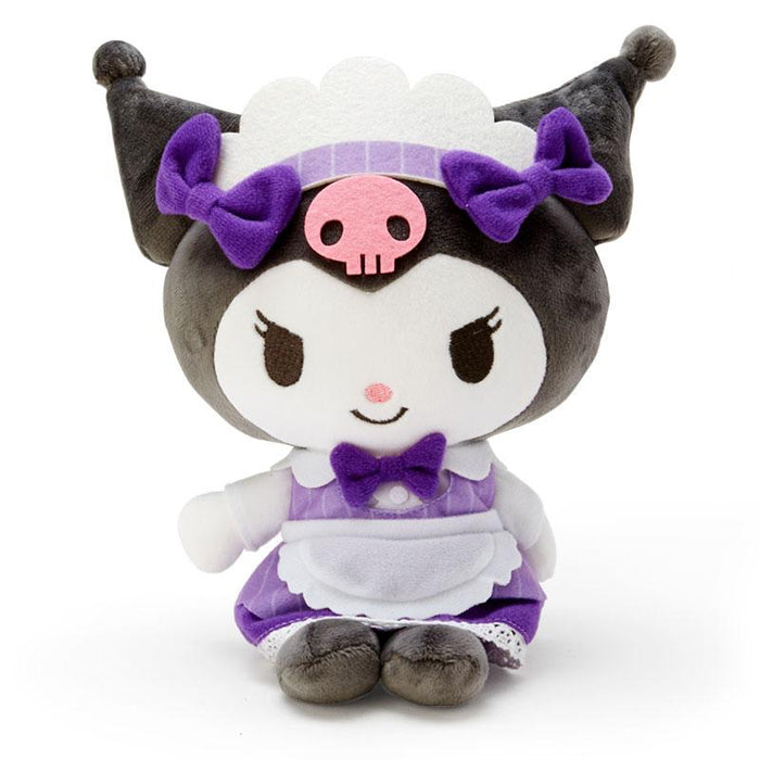 "Japan Sanrio - ""Maid Costume"" Collection - Plush Toy x Kuromi"