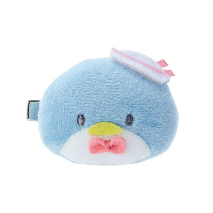 Japan Sanrio -Plush Hair Clip x Tuxedo Sam