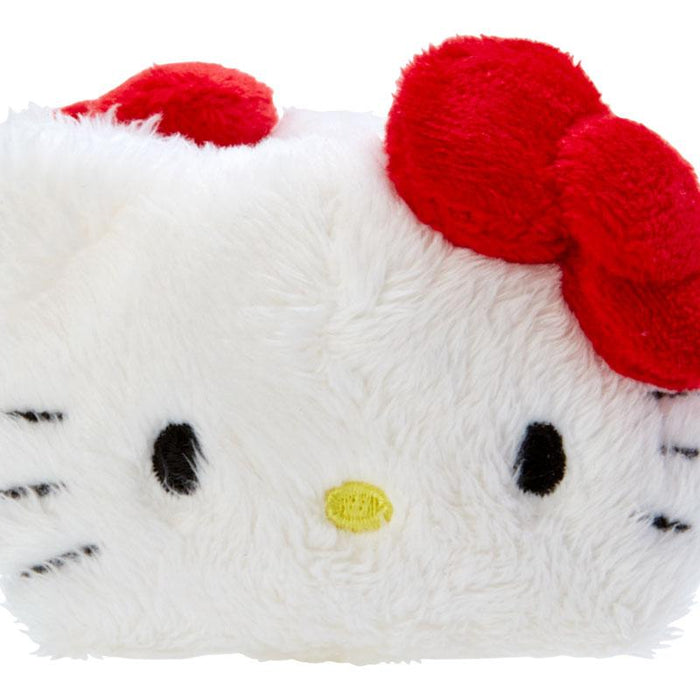 Japan Sanrio - Fluffy Hair Clip x Hello Kitty