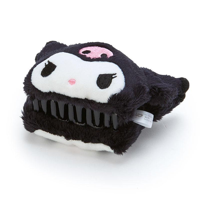 Japan Sanrio - Fluffy Hair Clip x Kuromi