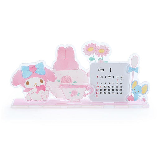 Japan Sanrio - 2021 Calendar & Diary Collection - Acrylic Stand Calendar 2021 x My Melody