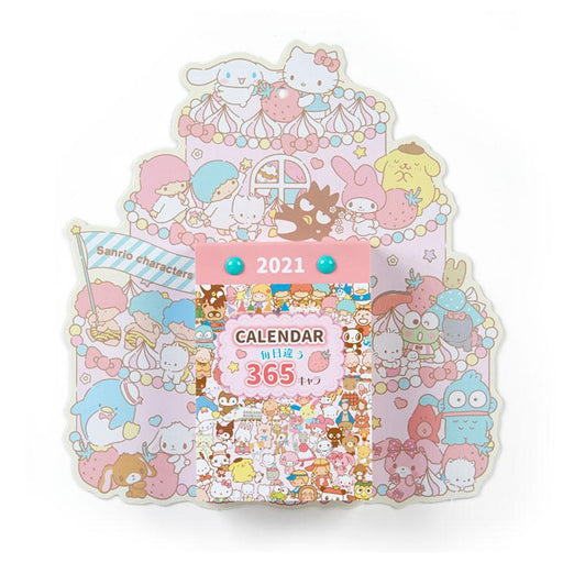 Japan Sanrio - 2021 Calendar & Diary Collection - Daily Wall Calendar x Sanrio Characters
