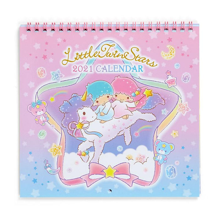 Japan Sanrio - 2021 Calendar & Diary Collection - Wall Calendar Size M x Little Twin Star