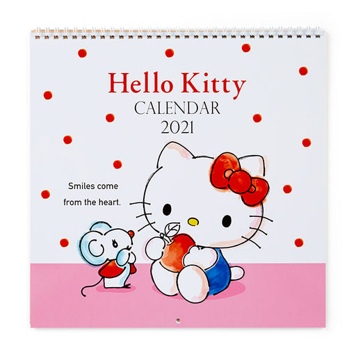 Japan Sanrio - 2021 Calendar & Diary Collection - Wall Calendar Size L x Hello Kitty