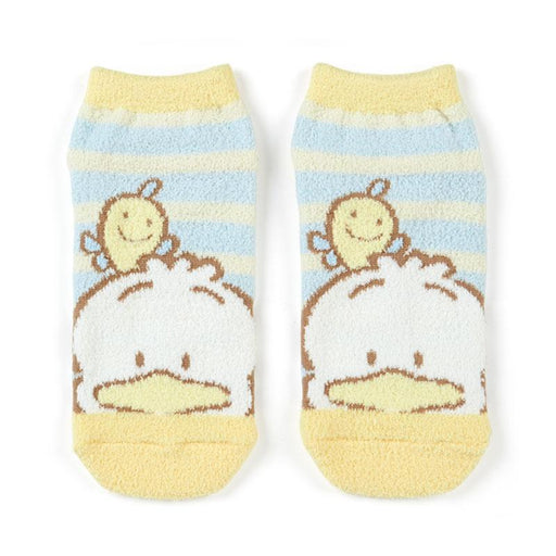 Japan Sanrio - Mokomoko Socks (Border) x Pekkle