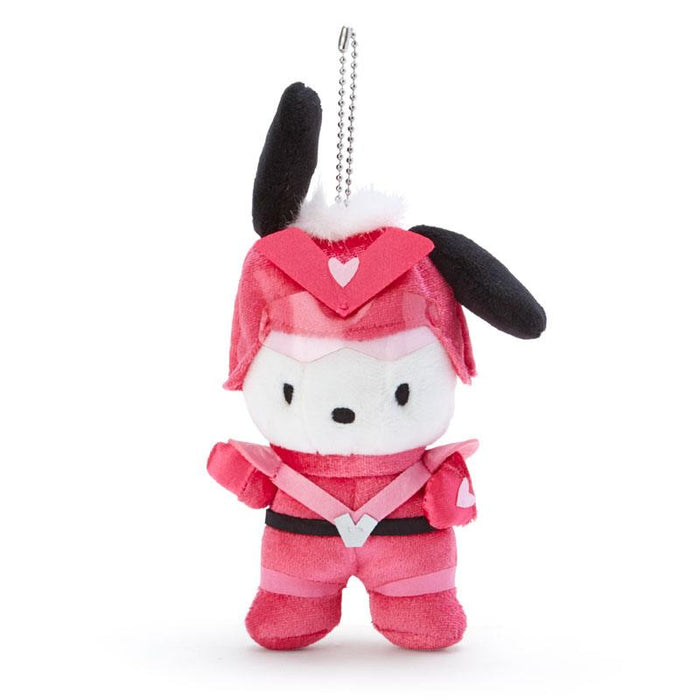 Japan Sanrio - Happy Hero HAPIDANRUI Collection - Plush Toy Keychain x Pochacco
