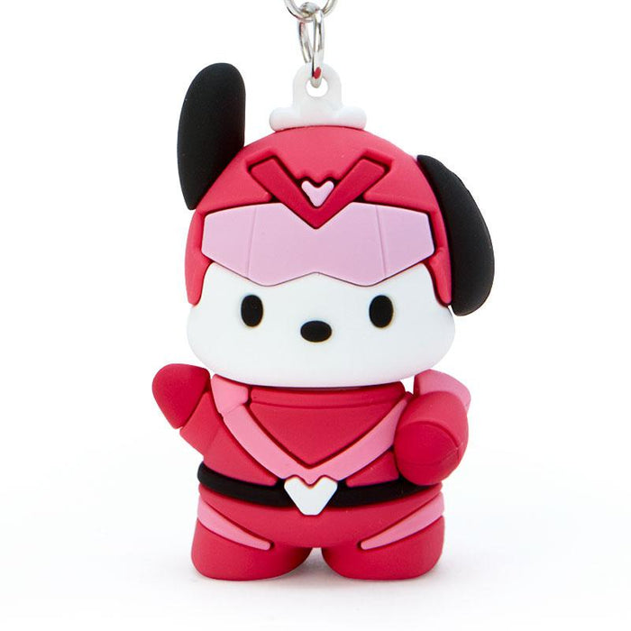 Japan Sanrio - Happy Hero HAPIDANRUI Collection - Keychain x Pochacco