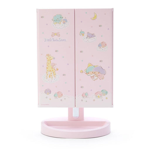 Japan Sanrio - Mirror with LED Light x Little Twin Stars