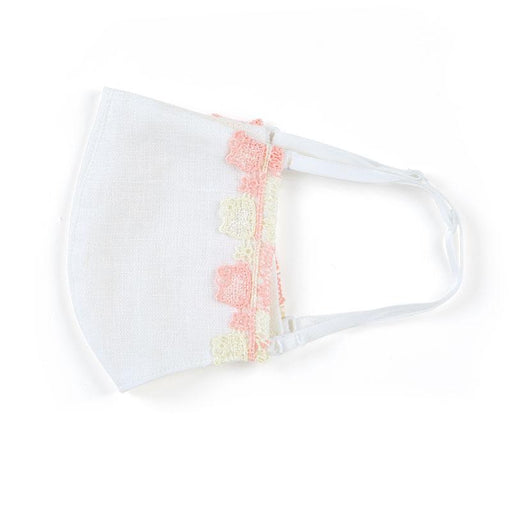Japan Sanrio - Chikazawa Lace Cloth Mask x Hello Kitty (Color: White)
