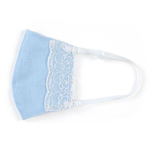Japan Sanrio - Chikazawa Lace Cloth Mask x Little Twin Stars (Color: Blue)