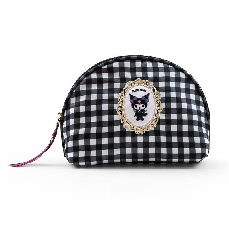 Japan Sanrio - Frame Collection - Kuromi Shell-shaped Pouch