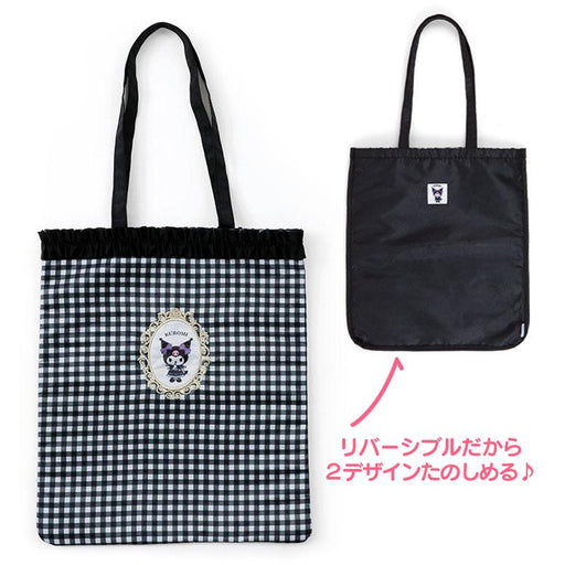 Japan Sanrio - Frame Collection - Kuromi 2 Sided Tote Bag