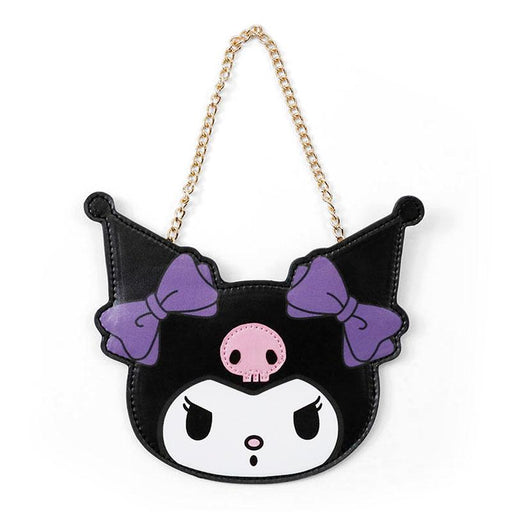Japan Sanrio - Frame Collection - Kuromi Face Type Coin Case