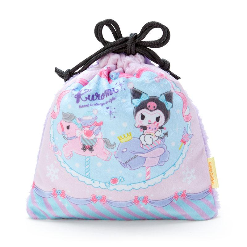 Japan Sanrio - Kuromi Candy set with Drawstring Bag