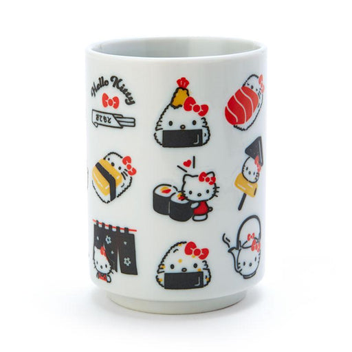 Japan Sanrio - Tea Cup x Hello Kitty All Over Print Sushi