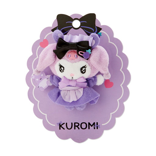 JP Sanrio - Kuromi Tsundere Cafe Collection - Plush Toy with Pin Badge x Kuromi (Dere)