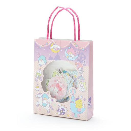 Japan Sanrio - Mini Paper Bag Sticker x Sanrio Characters