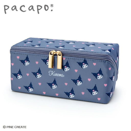 Japan Sanrio - Pacapo. (R) Cosmetic Pouch Size M x Kuromi