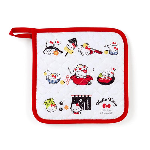 Japan Sanrio - Clay Pot Cooking Series - Potholder x Hello Kitty
