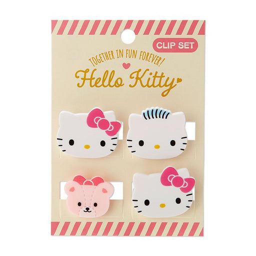Japan Sanrio - Mini Clip Set (Mini Face) x Hello Kitty