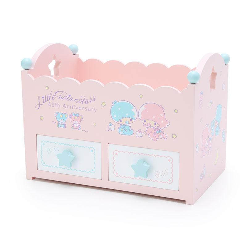 Japan Sanrio - Little Twin Stars 45th Anniversary - Crib-style storage box (Baby Dream)