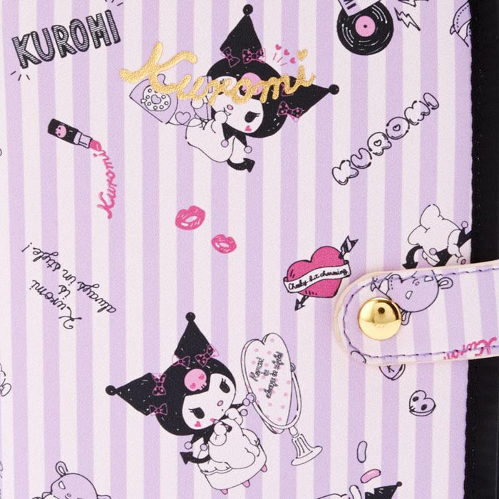 Japan Sanrio - Kuromi Notebook Type Mask Pouch (Cute)