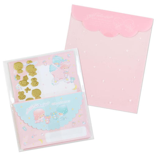 Japan Sanrio - Little Twin Stars 45th Anniversary - Letter Set (Baby Dream)