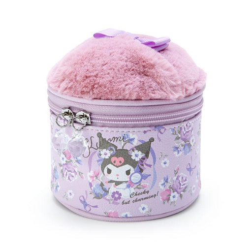 Japan Sanrio - Cosmetic mood Series x Kuromi Puff Pouch