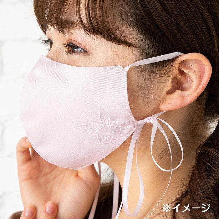 Japan Sanrio - Mask with Ribbon x Wish me mell