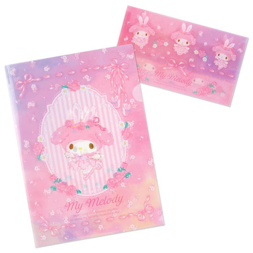 Japan Sanrio - My Melody Ballerina Collection - My Melody Clear File Set